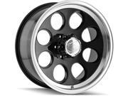 ION 171 17x9 8x170 0mm Black Wheel Rim