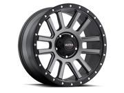 Ultra 107GN Xtreme 18x9 8x165.1 +12mm Graphite/Black Wheel Rim