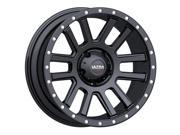 Ultra 107SB Xtreme 18x9 6x139.7 +12mm Satin Black Wheel Rim