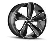 Touren 3271 TR71 18x8 5x112 +35mm Black/Machined Wheel Rim