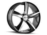 Touren 3272 TR72 20x8.5 5x114.3 +35mm Black/Machined Wheel Rim