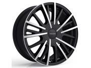 Cruiser Alloy 921MB Pulsar 17x7.5 5x108/5x114.3 +42mm Black/Machined Wheel Rim