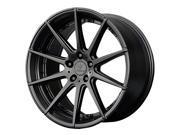 Verde V20 Insignia 22x10.5 5x130 +48mm Satin Black Wheel Rim