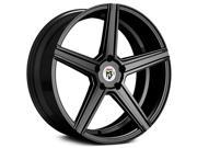 Fondmetal 189B KV1 20x9 5x114.3 5x4.5 40mm Matte Black Wheel Rim