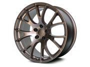 Verde V1180 Hellcat  20x9.5 5x127 +34mm Bronze Wheel Rim