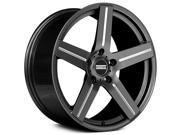 Fondmetal 187HM STC-1C 22x9 5x115 +40mm Titanium/Milled Wheel Rim