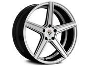 Fondmetal 189S KV1 20x10.5 5x120 +47mm Silver Wheel Rim