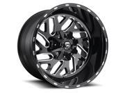 Fuel D581 Triton 20x12 8x170 -43mm Black/Milled Wheel Rim