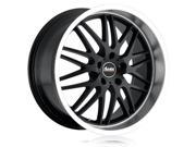 Advanti Racing 63MB Kudos 20x10 5x120 +40mm Matte Black Wheel Rim