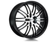 Advanti Racing 69MB Prodigo 22x10 5x115  Black/Machined Wheel Rim