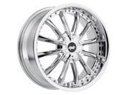 Avenue A611 18x8 5x114.3 5x120 20mm Chrome Wheel Rim
