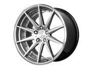Verde V20 Insignia 22x10.5 5x130 +48mm Silver/Machined Wheel Rim