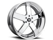 Dub S222 Big Baller 24x10 6x135 +30mm Chrome Wheel Rim