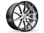 ROSSO 706 LEGACY 20x10 5x120 +20mm Black/Machined Wheel Rim