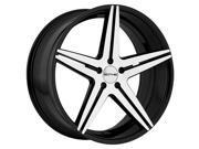 Sothis SC-04 20x10 5x112 +38mm Black/Machined Wheel Rim