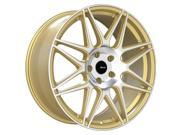 Advanti Racing 88G Classe 18x9 5x120 +35mm Gold/Machined Wheel Rim
