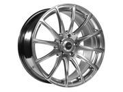 Advanti Racing 85H Svelto 20x10 5x120 +42mm Titanium Wheel Rim