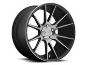 Niche M153 Vicenza 20x10 5x112 +40mm Black/Machined Wheel Rim