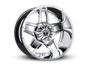 TIS 543C 20x12 8x170 -44mm Chrome Wheel Rim