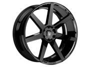 Status JOURNEY 24x10 5x120 +30mm Gloss Black Wheel Rim