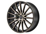 Helo HE894 20x8.5 5x120 +38mm Black/Machined Wheel Rim