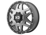 XD Series XD130 Machete Dually 17x6.5 8x165.1/8x6.5