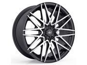 ICW Racing 217MB Sapporo 16x7.5 4x100/4x114.3 +38mm Black/Machined Wheel Rim