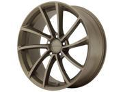 KMC KM691 Spin 19x8.5 5x112 +35mm Matte Bronze Wheel Rim