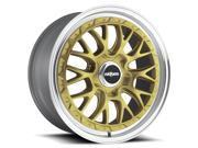 Rotiform R156 LSR 19x10 5x112 +35mm Gold Wheel Rim