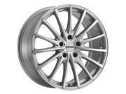 Petrol P3A 19x8 5x110 +40mm Silver/Machined Wheel Rim