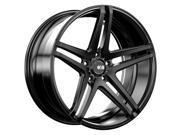 XO Caracas 22x10.5 5x127 +35mm Matte Black Wheel Rim
