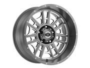 Vision 418 Widow 20x12 5x139.7 -51mm Gunmetal/Milled Wheel Rim