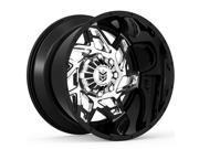 Dropstars 652BV 20x12 6x135/6x139.7 -44mm PVD/Black Wheel Rim