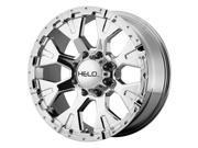 Helo HE878 17x9 6x135 -12mm Chrome Wheel Rim