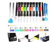 USRepair Tool Kit Screwdrivers For IPhone IPad Samsung Nokia Blackberry HTC LG PC Tablet 16 in 1 Kit Tools