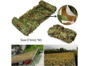 3*4M Hunting Camping Outdoor Desert Woodlands Blinds Army Military Camouflage Camo Net Sun Shelter Jungle Blinds Car-covers thumbnail