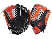 "Rawlings RCS175NO 11.75"" Neon Orange Custom Series Baseball Glove New w/ Tags!"