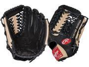 "Rawlings PRO175JBC 11.75"" Heart of The Hide Black / Camel Custom Baseball Glove"