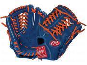 "Rawlings G1175R 11.75"" Gold Glove Gamer XLE Mets Royal / Orange Baseball Glove"