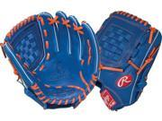 Rawlings G115PTR 11.5 Gold Glove Gamer XLE Royal/Orange Pro Taper Baseball Glove