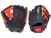 Rawlings G112PTGO 11.25 Gold Glove GamerXLE Grey/Orange Pro Taper Baseball Glove