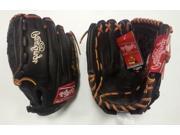 "LHT Lefty Rawlings GRTD1153 11.5"" Gold Glove Gamer Mocha Baseball Glove New!"