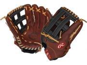 "Rawlings B1250H 12.5"" The Gold Glove Bull Series Baseball Glove Outfield H Web"