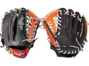 """Rawlings GGE115GNO 11.5"""" Gold Glove Elite Baseball Glove Modified Trap-Eze Web"""