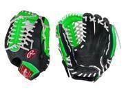 """Rawlings RCS175NG 11.75"""" Neon Green Custom Series Baseball Glove New w/ Tags!"""