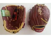 "Rawlings S1200BS 12"" Sandlot Series Baseball Glove New In Wrapper With Tags!"