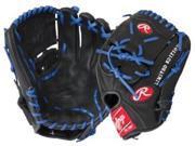 "Rawlings G1175BRLE 11.75"" Gold Glove Gamer XLE Series Baseball Glove Black/ Blue"