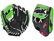 Rawlings RCS112PTG 11.25 Neon Green Pro Taper Series Youth Baseball Glove New!