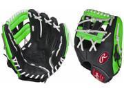 Rawlings RCS112PTG 11.25 Neon Green Pro Taper Series Youth Baseball Glove New!