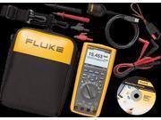 FLUKE FLUKE-287/FVF Digital Multimeter, 1000V, 10A, 500 MOhms